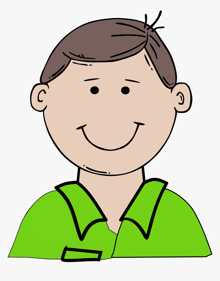 Boy Happy Child Free - Dad Clipart, HD Png Download, Free Download