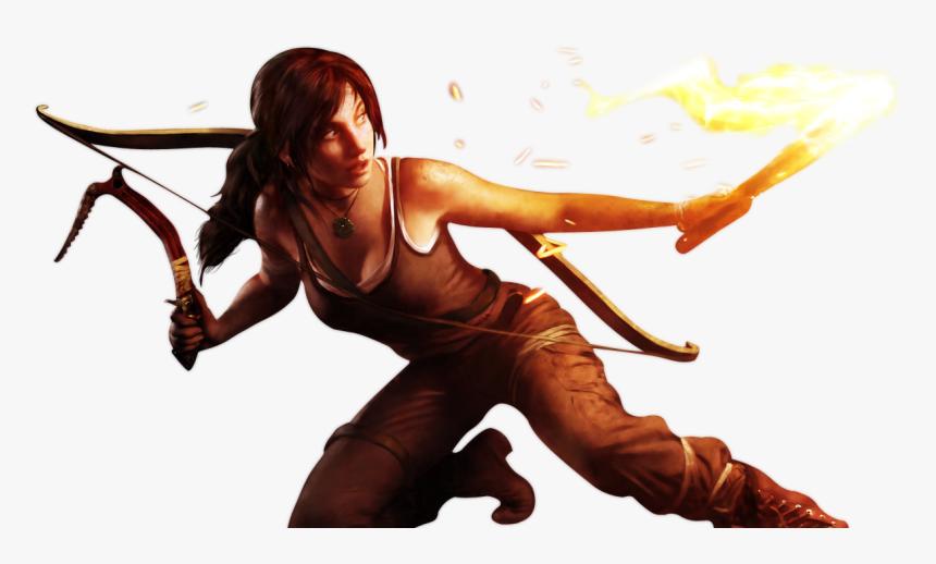 Lara Croft Tomb Raider Game Png Transparent Png Kindpng