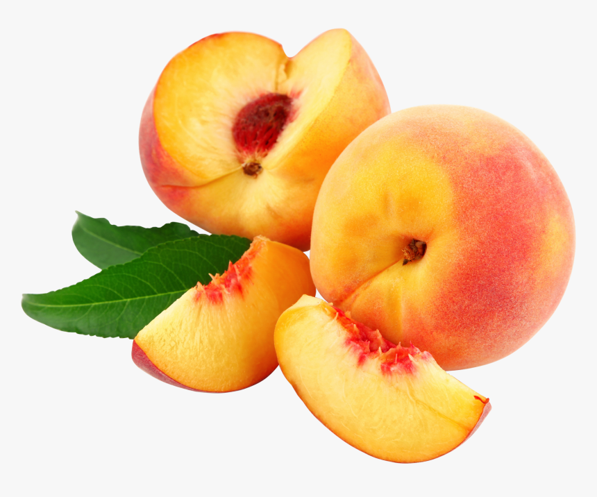 Peaches Slices Png - Peach Png, Transparent Png, Free Download