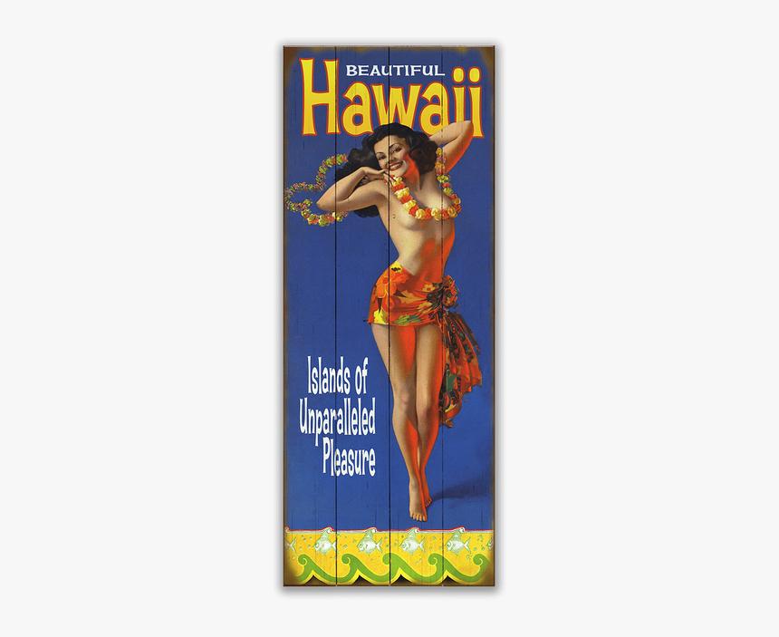 Hawaii Pin Up, HD Png Download, Free Download