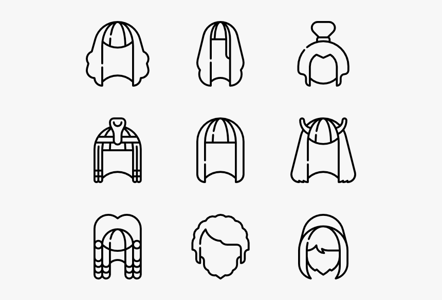 Wigs - Resume Icons Png, Transparent Png, Free Download
