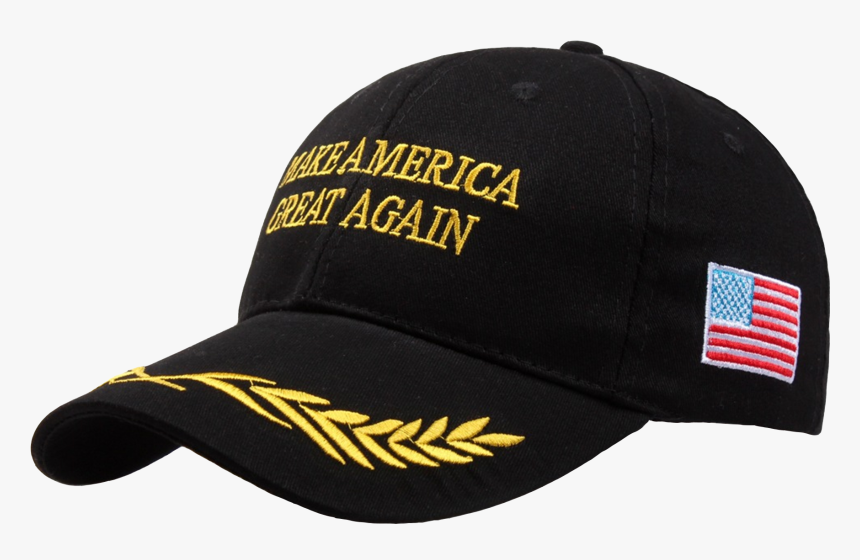 Make America Great Again Hat With Gold Branch - Make America Great Again Hat Military, HD Png Download, Free Download
