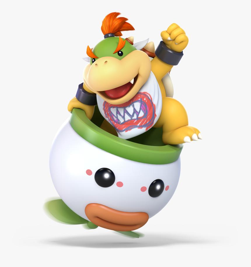 Super High Resolution Artwork - Super Smash Bros Ultimate Bowser Jr, HD Png Download, Free Download