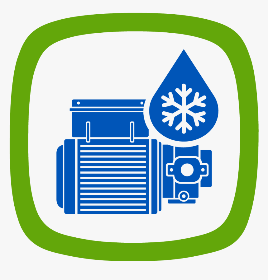 Cooling Pump Icon - Water Cooling System Icon, HD Png Download, Free Download