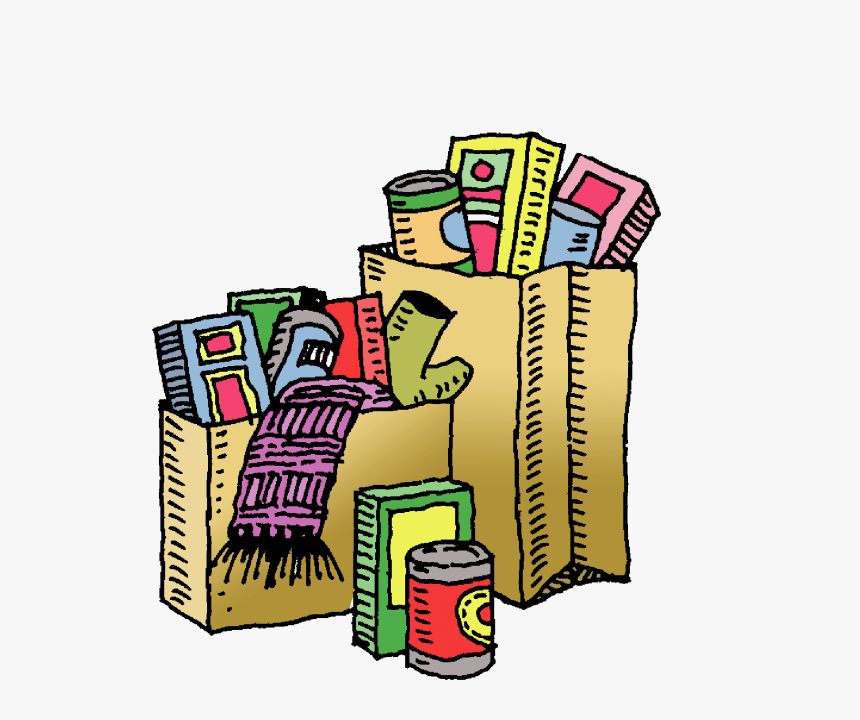 Pin Canned Food Clipart - Clip Art Food Pantry, HD Png Download, Free Download
