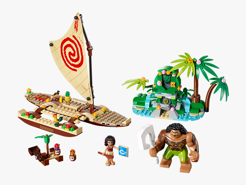 800 X 600 - Lego Moana's Ocean Voyage, HD Png Download, Free Download