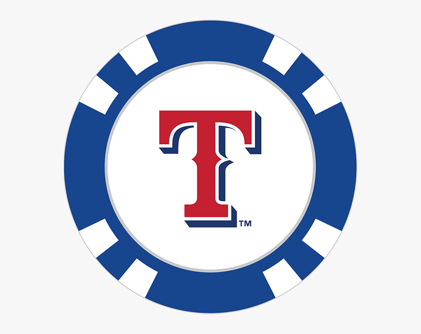 Texas Rangers Poker Chip Ball Marker - Transparent Cleveland Indians Logo, HD Png Download, Free Download
