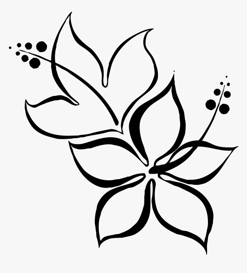 Gladiolus Flower Drawing Beautiful Easy Flower Drawings Hd Png Download Kindpng