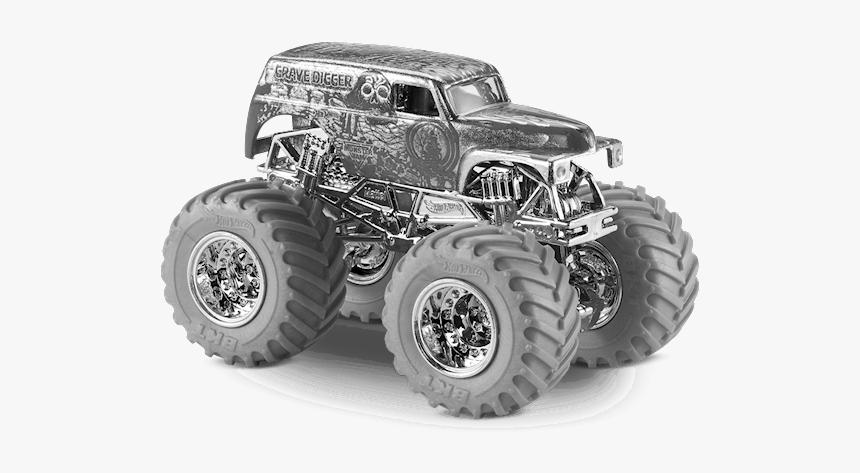 Grave Digger Monster Truck Png - Grave Digger Monster Jam Hot Wheels, Transparent Png, Free Download