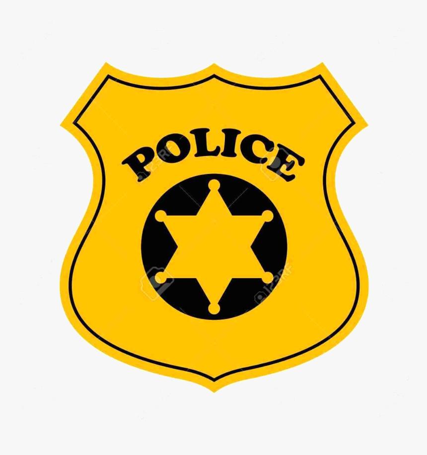 Police Badge Officer Clipart Transparent Png - Police Officer Badge Clipart, Png Download, Free Download