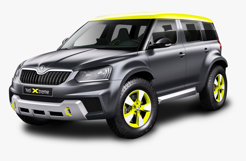 Black Skoda Yeti Xtreme Car Png Image - Skoda Yeti Xtreme, Transparent Png, Free Download