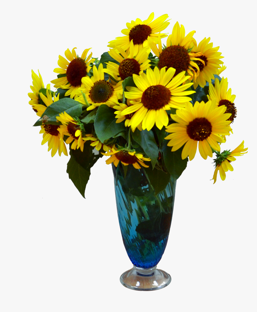 Flower Vase With Flowers Photography Png- - Flower Vase Hd Png, Transparent Png, Free Download