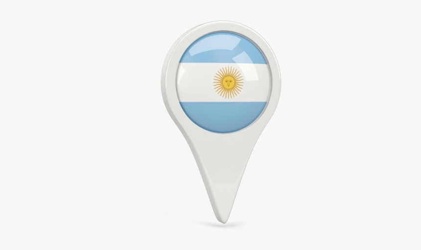 Round Pin Icon Argentina Flag Pin Icon Hd Png Download Kindpng