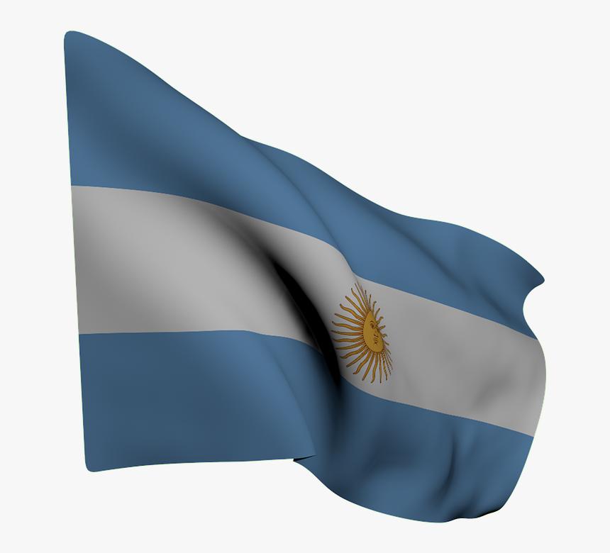 Flag Argentina Blue White Sun Wave Argentina Waving