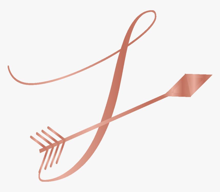 Transparent Gold Arrow Png - Rose Gold Line Transparent, Png Download, Free Download