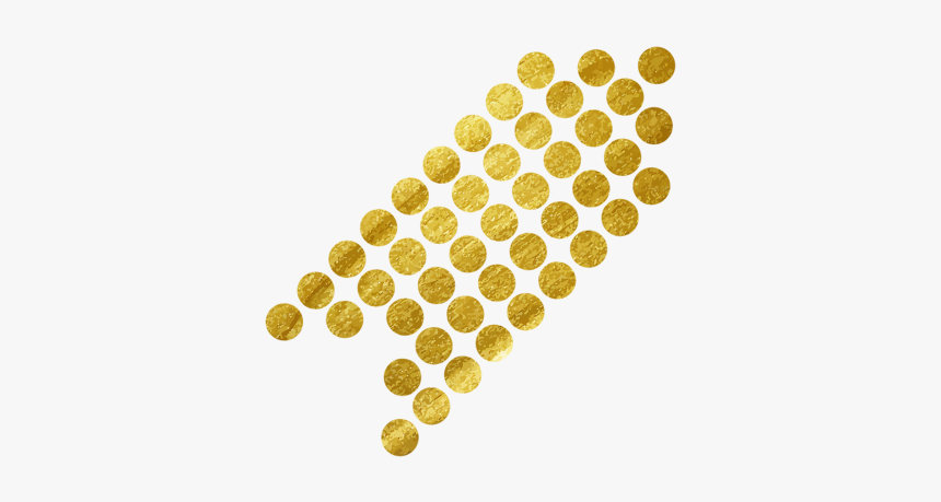 #flaunt #flauntmagazine #dots #gold #arrow #freetoedit - Free Black And White Ear Of Corn Clipart, HD Png Download, Free Download
