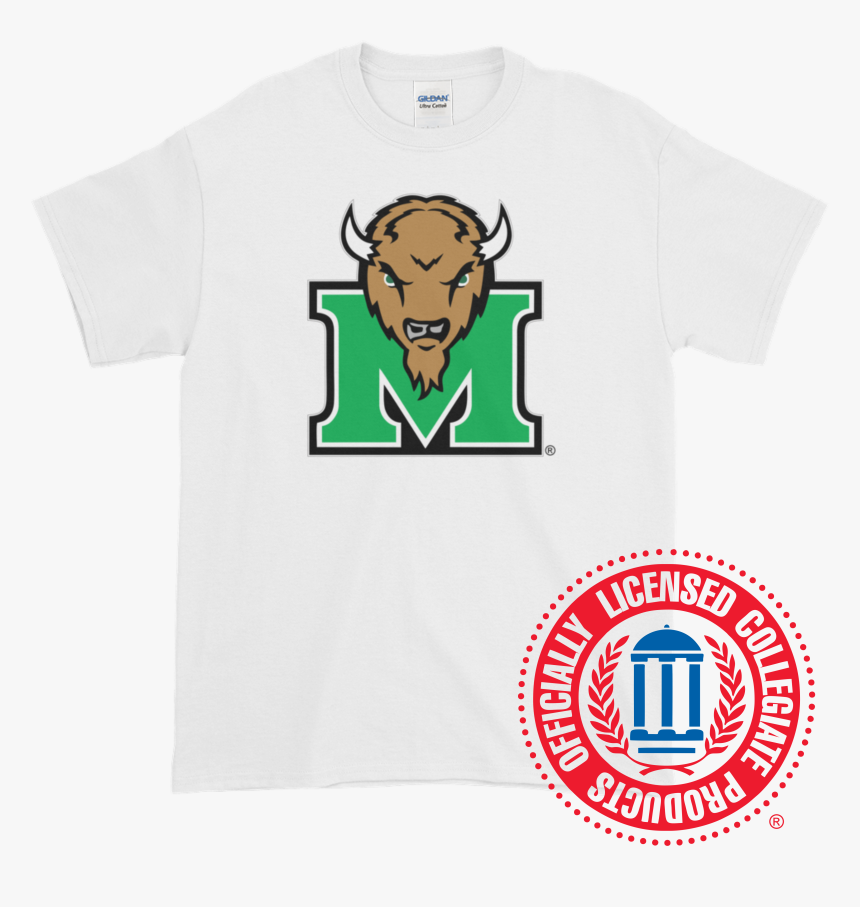 Image Of Marshall University™ Marco Logo T-shirt, HD Png Download, Free Download