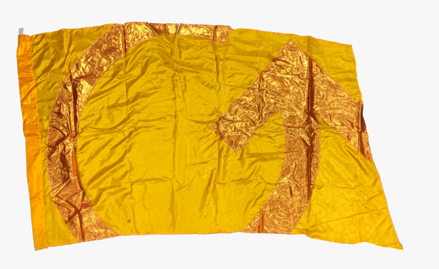 19 Gold Arrow Flags  35x58  poly China/lame  very Good - Quilt, HD Png Download, Free Download
