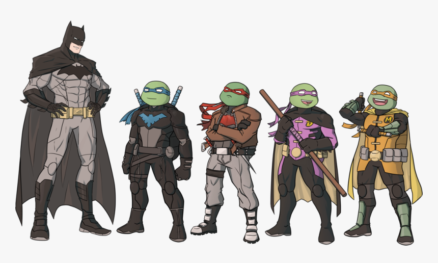 The Best Thing About Raph As The Red Hood It Takes Batman Vs Teenage Mutant Ninja Turtles Png Transparent Png Kindpng