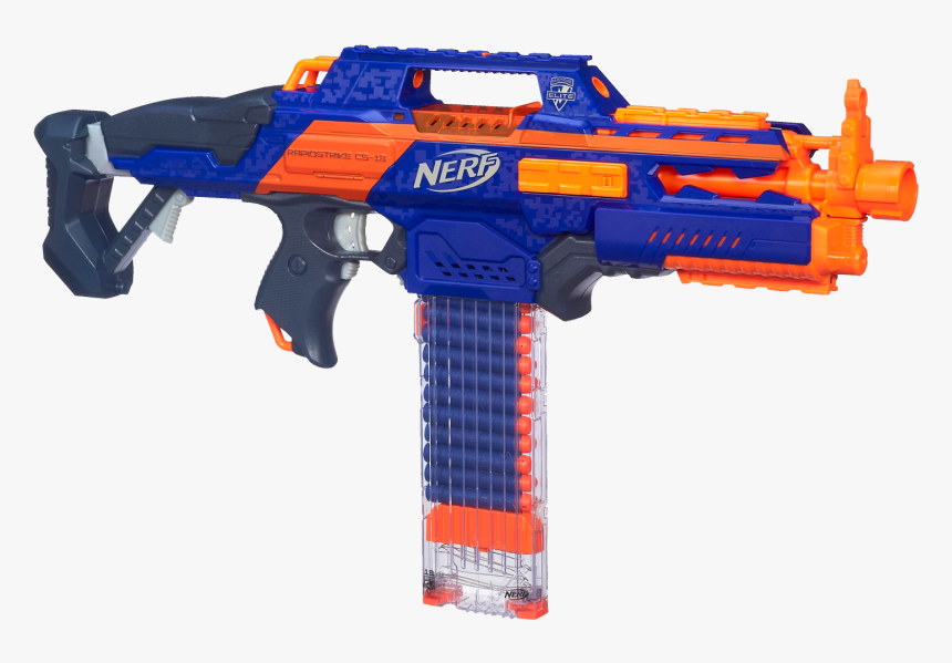 Nerf N-strike Elite Amazon - Nerf Gun Transparent Background, HD Png Download, Free Download