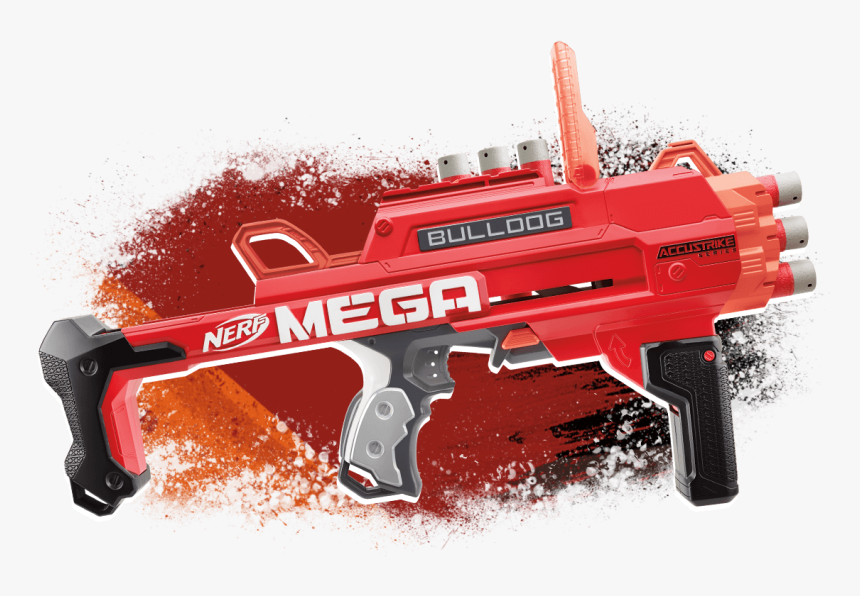 Transparent Nerf Gun Png - Nerf Mega Bulldog, Png Download, Free Download