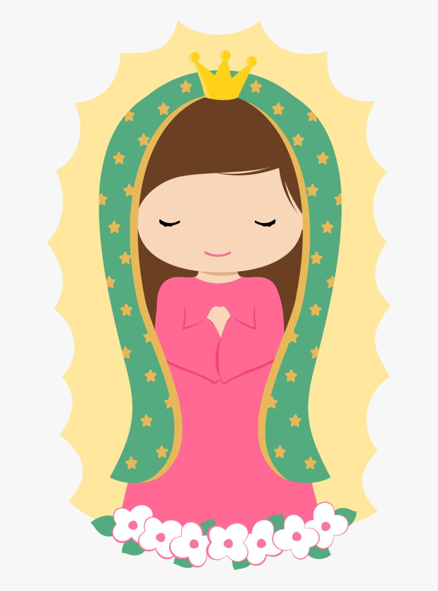 Our Lady Of Guadalupe Cartoon, HD Png Download, Free Download