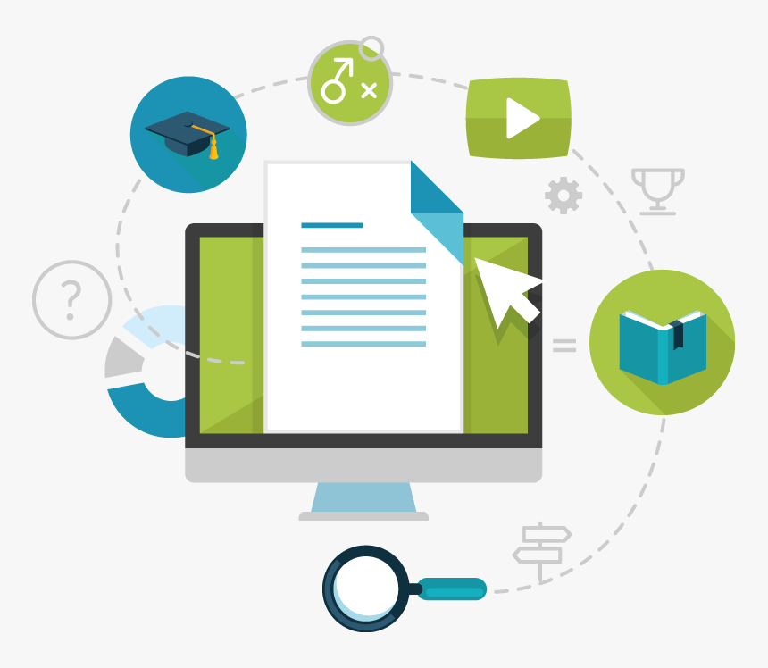 Learning Educational Technology Distance Education - Education, HD Png  Download - kindpng