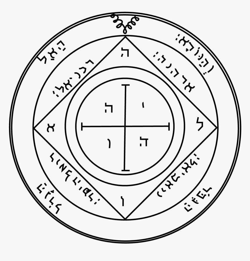 Fifth Pentacle Of Saturn, HD Png Download, Free Download