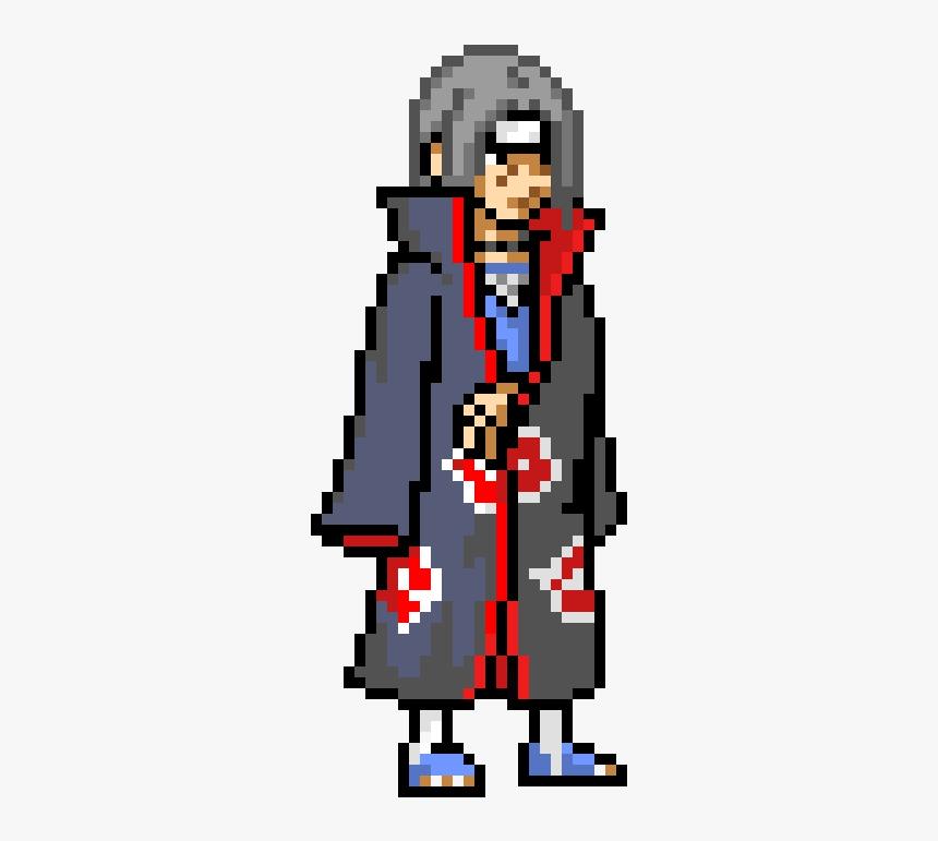 Naruto Itachi Pixel Art Hd Png Download Kindpng