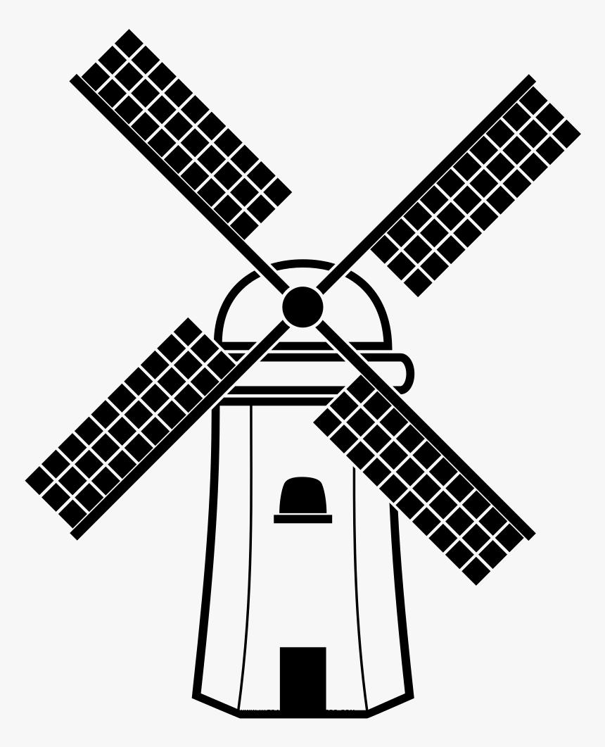 Windmill Coloring Page Mewarnai Gambar Kincir Angin HD