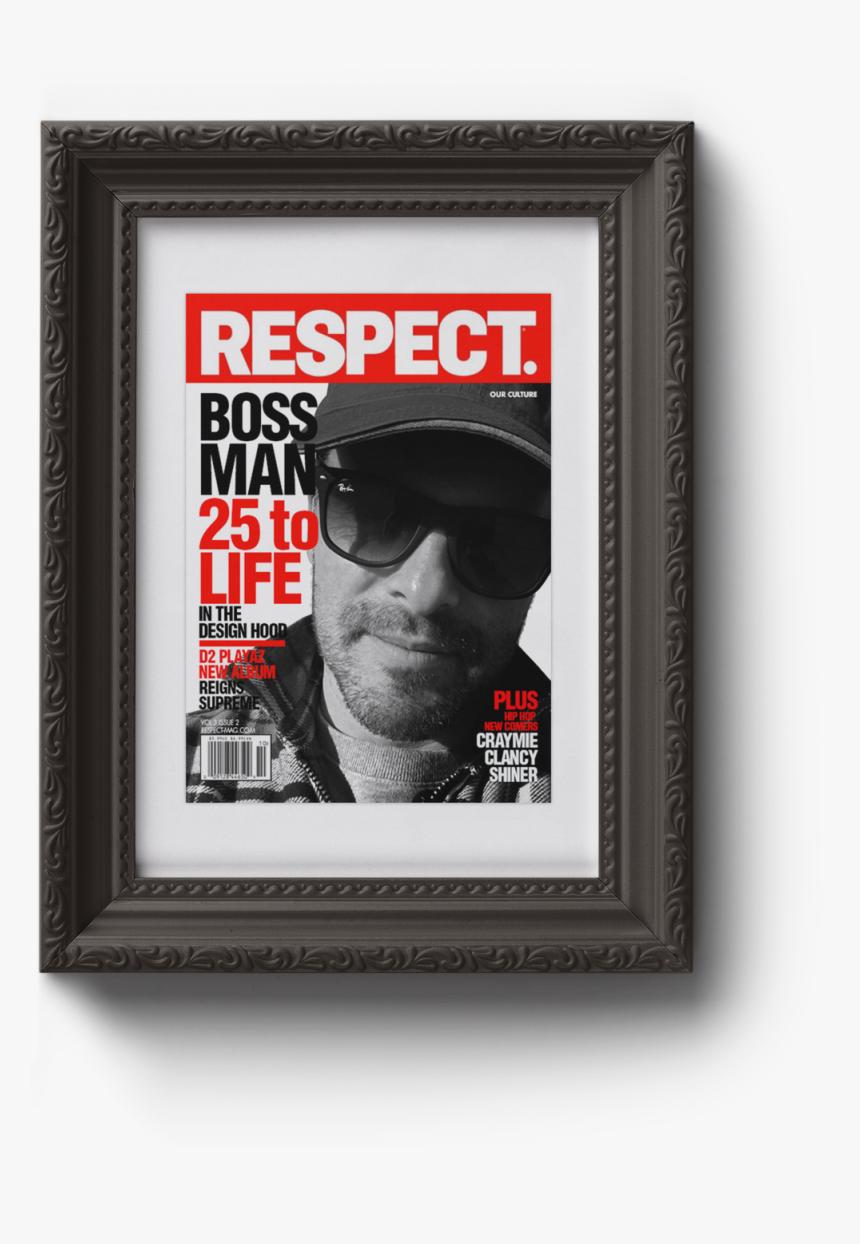 Transparent Handlebar Mustache Png - Eminem Respect Magazine, Png Download, Free Download