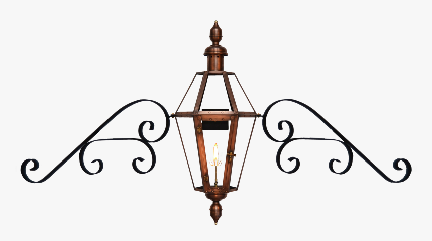 Mount Vernon With Fancy Mustache Bracket And London - Fancy Lantern, HD Png Download, Free Download