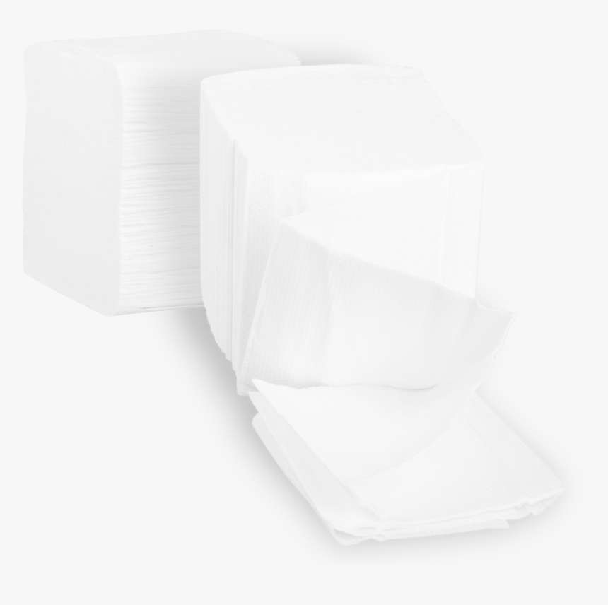 Toilet Paper Stacked/folded Toilet Paper, - Tissue Paper, HD Png Download, Free Download