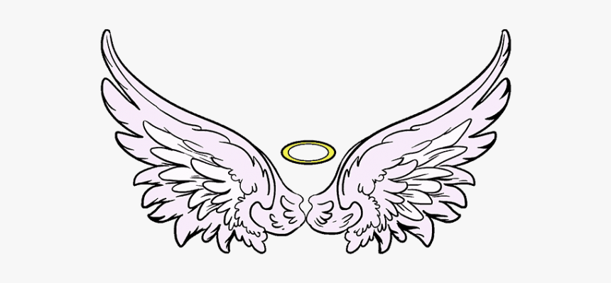 Angel Wings Drawing Png, Transparent Png, Free Download
