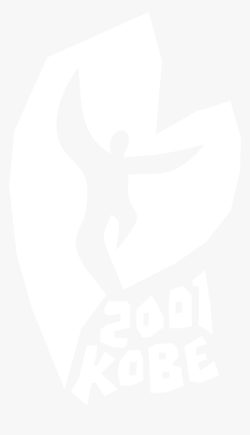 2001 Kobe Logo Black And White - Johns Hopkins Logo White, HD Png Download, Free Download