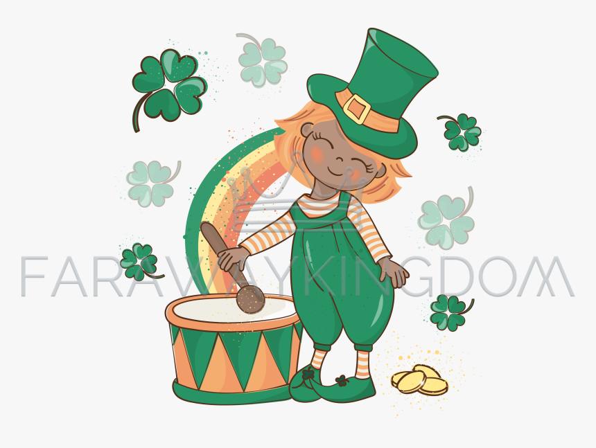 Patricks Day Png - St Patricks Day Drum, Transparent Png, Free Download
