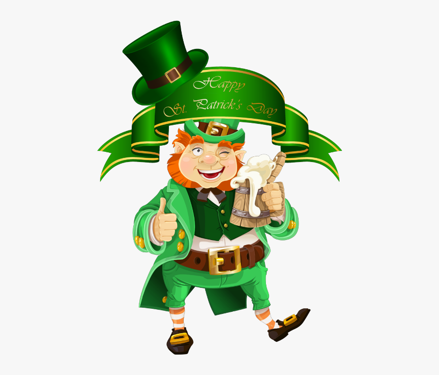 """Transparent Happy St Patrick""""s Day Png - Leprechaun St Patrick's Day Png, Png Download, Free Download"""