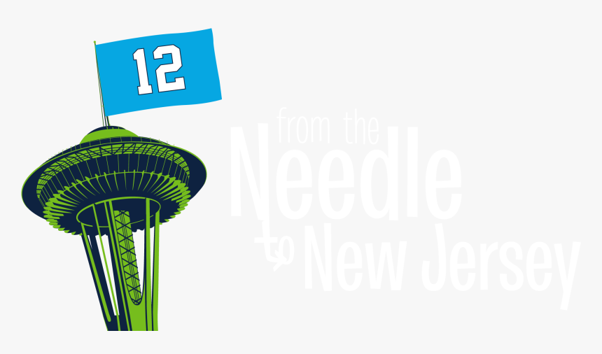 Seahawks Space Needle Png , Png Download - Space Needle, Transparent Png, Free Download