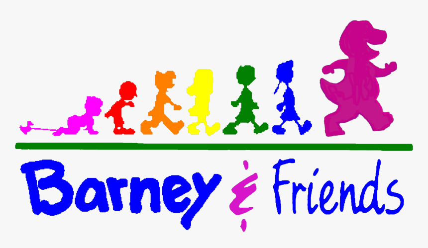 Barney and friends, hd png download kindpng.