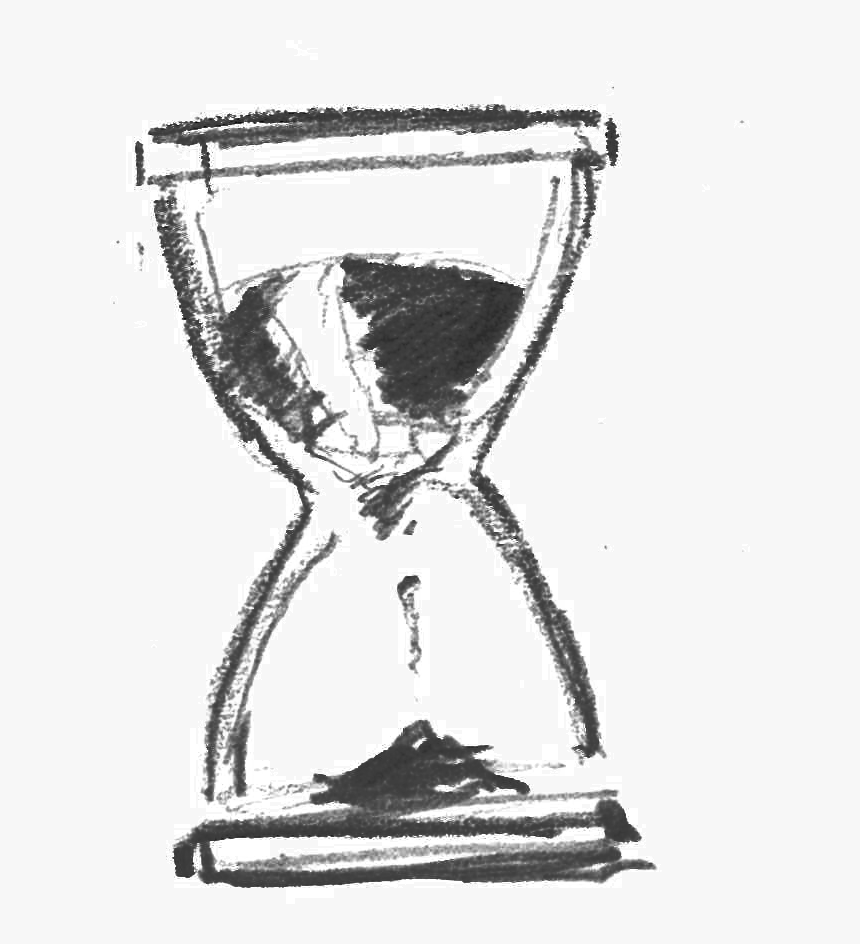 28 Collection Of Hourglass Drawing Png - Hour Glass Drawing Transparent, Png Download, Free Download