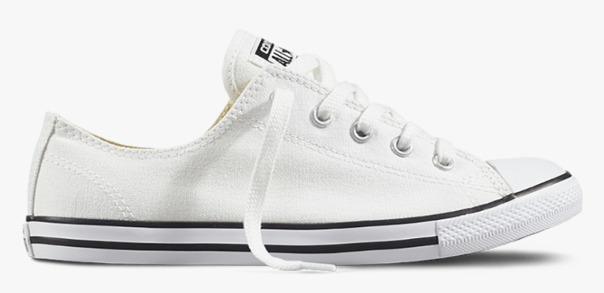 Soulier Converse All Star Dainty White Wmns - Converse Chuck Taylor All Star Low Top, HD Png Download, Free Download