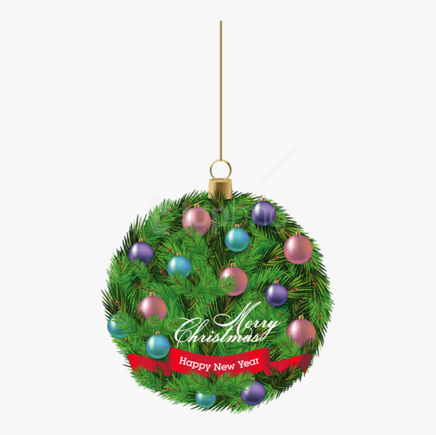 Hanging Christmas Ornaments Png Download - Christmas Day, Transparent Png, Free Download