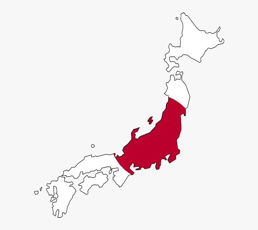 Japan Country Map Flag , Transparent Cartoons - Japan Country Map Flag, HD Png Download, Free Download