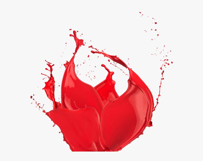Watercolor Splatter Png Red Splatter Png Red Splash - Paint Splash Png Red, Transparent Png, Free Download