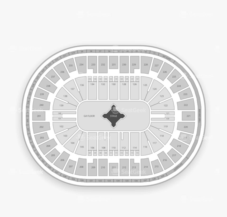 Transparent Metallica Png - Us Bank Arena Seating Chart, Png Download, Free Download