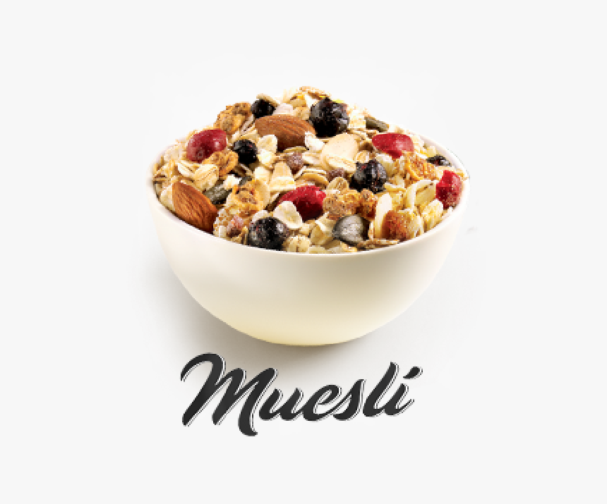Oatmeal Clipart Muesli - Bowl Of Muesli Png, Transparent Png, Free Download