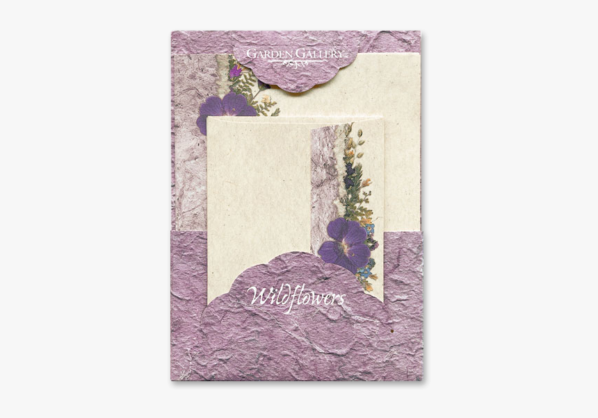 Purple Geranium Wildflower Premium Stationery Image - Greeting Card, HD Png Download, Free Download