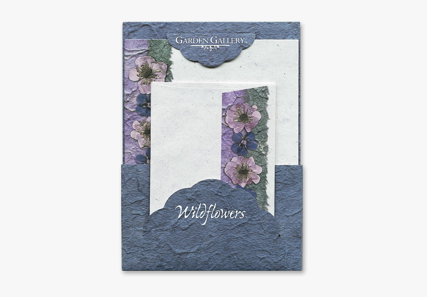 Blue Anagalis Wildflower Premium Stationery Image - Greeting Card, HD Png Download, Free Download