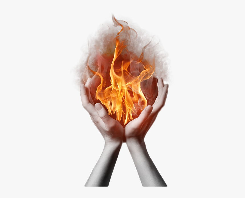 Holy Ghost Fire Png - Fire In Hands Png, Transparent Png, Free Download