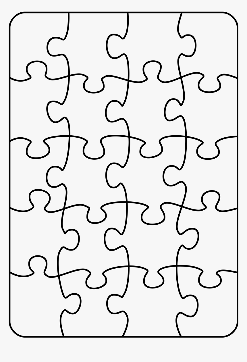Jigsaw Puzzle Pattern Png Transparent Png Kindpng